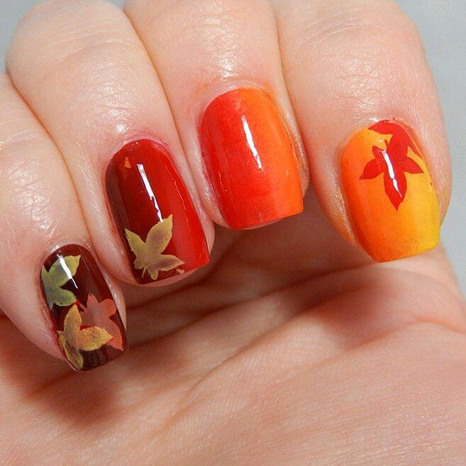 5 thanksgiving nail designs 2016 for the last minute beauty glitch thanksgiving nail designs prinsesfo Image collections