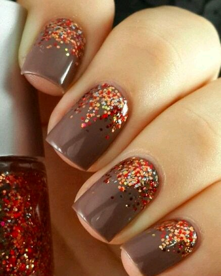 5 Thanksgiving Nail Designs 2016 For The Last Minute Beauty Glitch