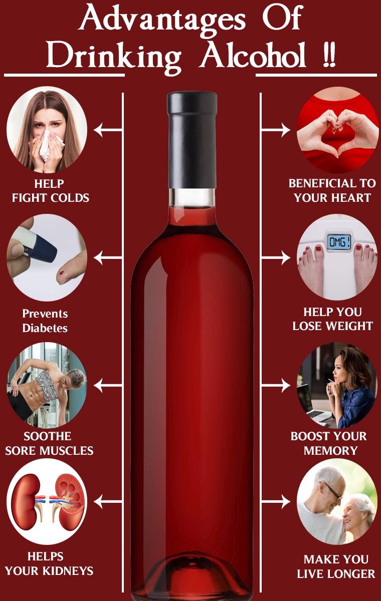 Advantages Of Drinking Alcohol