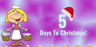 Eight Maids A-Milking - 5 Days To Christmas!