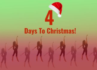 Nine Ladies Dancing - 4 Days To Christmas!
