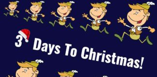 Ten Lords A-Leaping - 3 Days To Christmas!