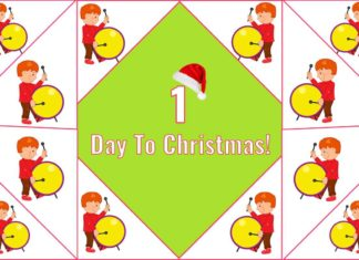 Twelve Drummers Drumming - 1 Day To Christmas!