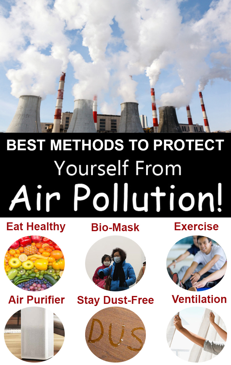 7 Methods To Protect Yourself From Air Pollution