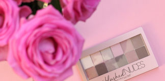 Maybelline New York The Blushed Nudes Palette Review