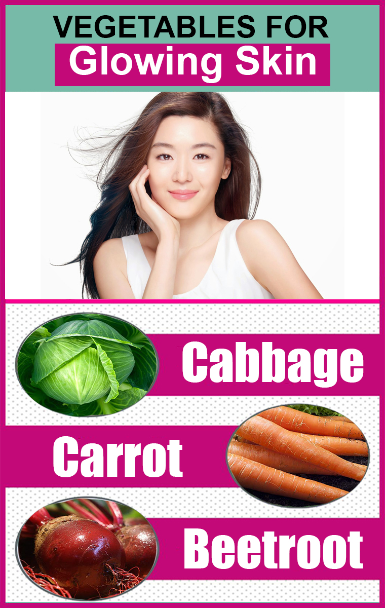 Vegetables For Glowing Skin