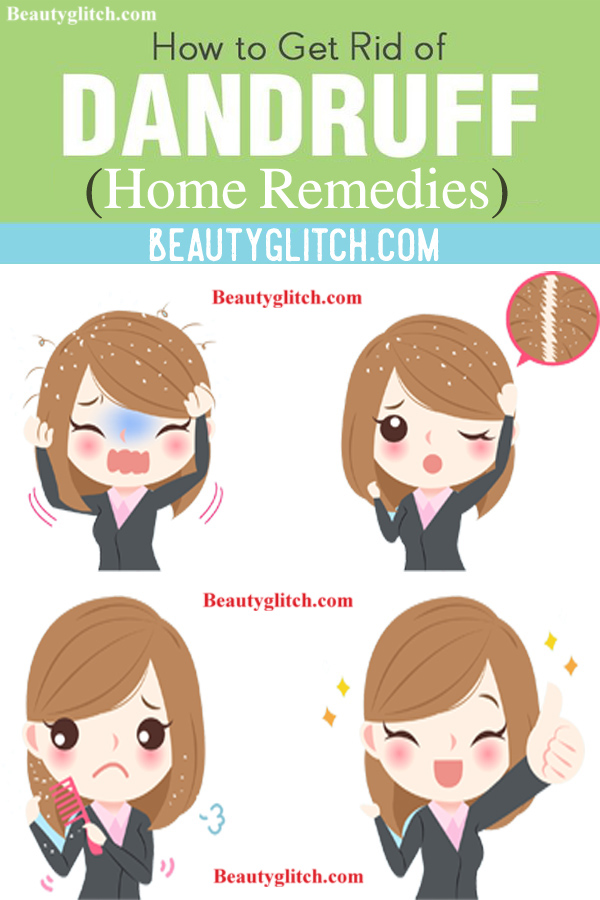Natural Way To Clear Dandruff