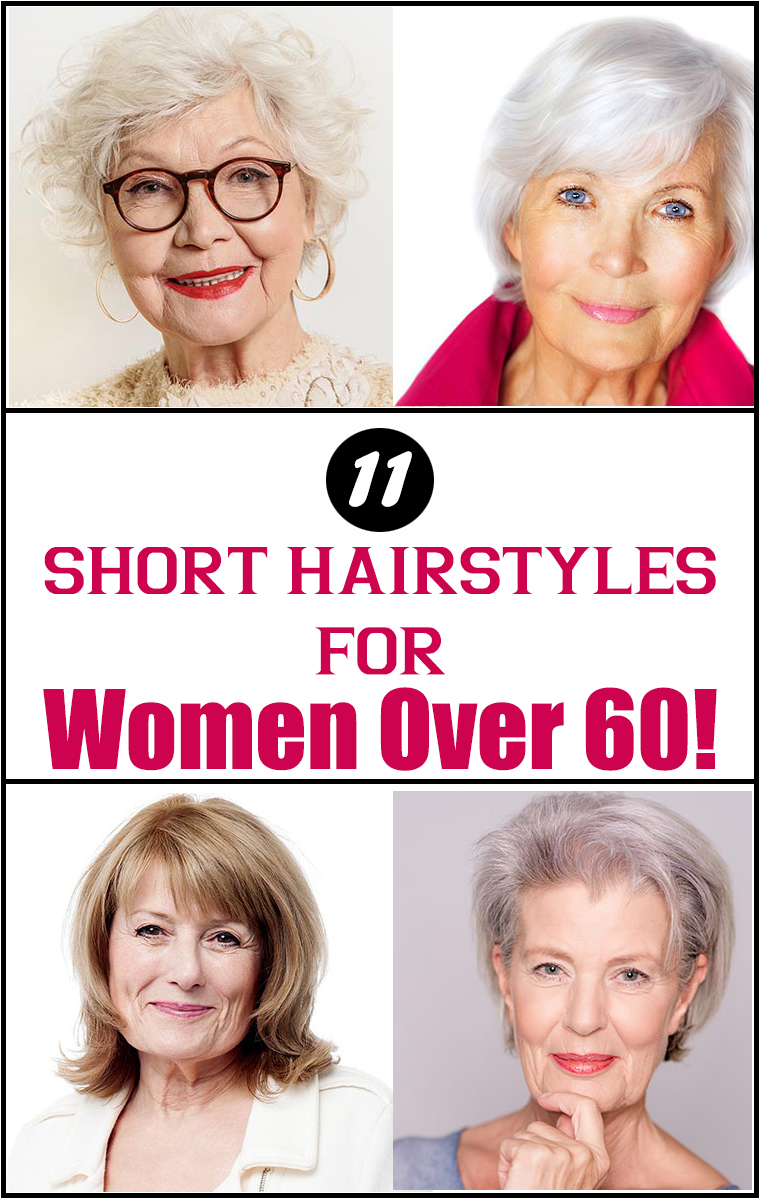 Hairstyles For 60 Year Old Woman With Glasses Short