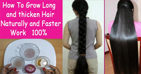 How To Get Long Hair Fast Natural Hair Growth Tips