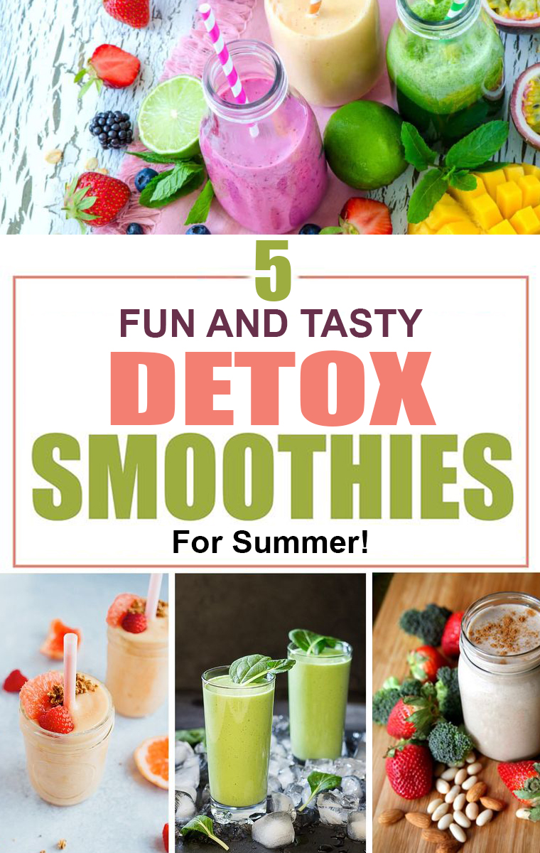 5 Fun and Tasty Detox Smoothies for Summer