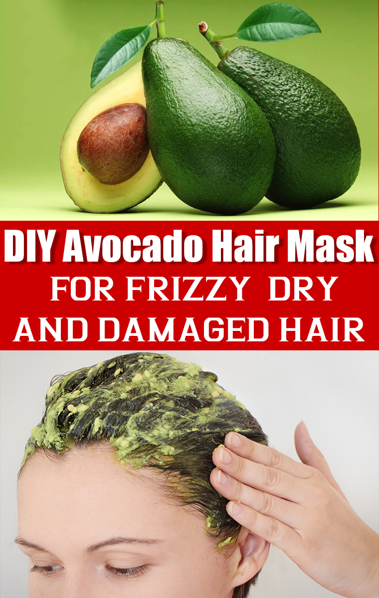 Avocado Hair Mask Diy Hair Pack For Dry Damaged And