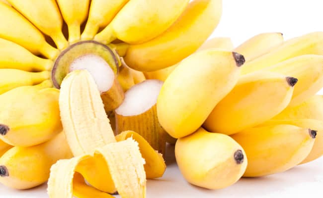 Don't eat bananas on an empty stomach