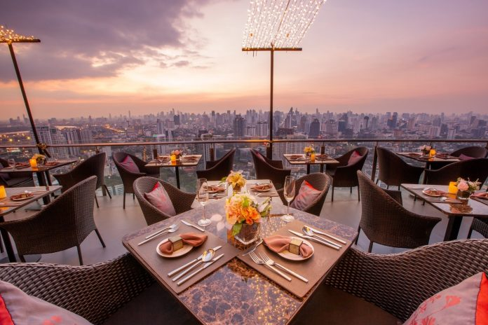 Have A Fine Dining in Bangkok at Cielo Sky Bar